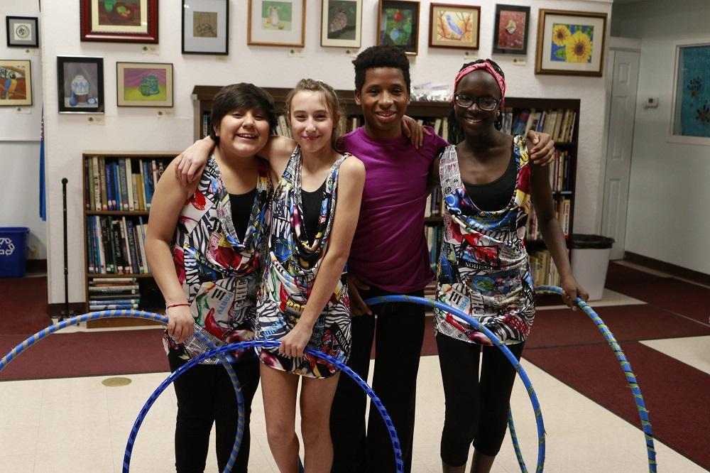 Children at the Inner-City Neighborhood Art House in Erie, PA