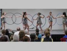 Hoop Dancing at NAH Open House