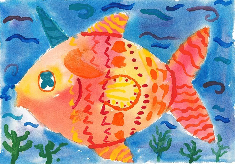 Watercolor Painting. Olga (age 8) - 2018