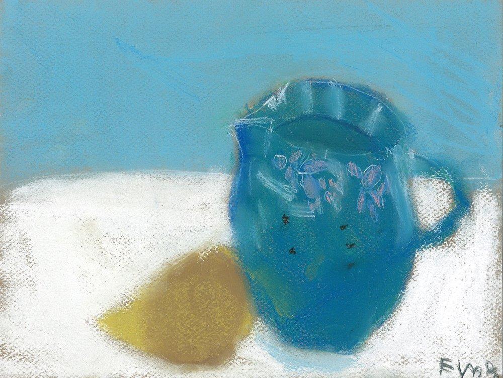 Chalk Pastel.  Emele (age 8) - 2019