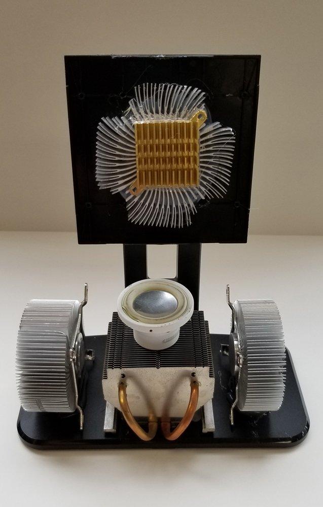 Repurposed Computer Part Sculpture.  Jamari (age 10) - 2019