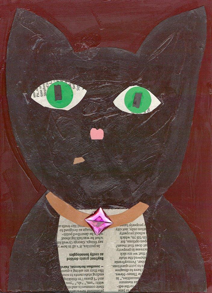 Cut Paper Collage. Janeisha (age 9) - 2018