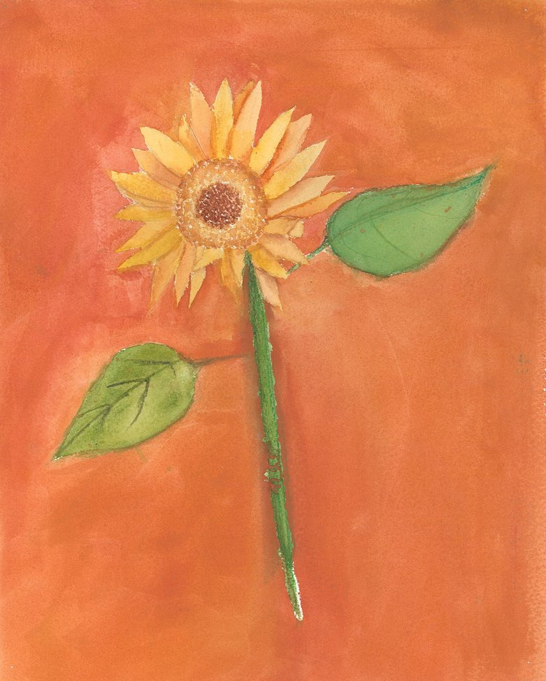 Watercolor. Aleksandra (age 11) - 2019