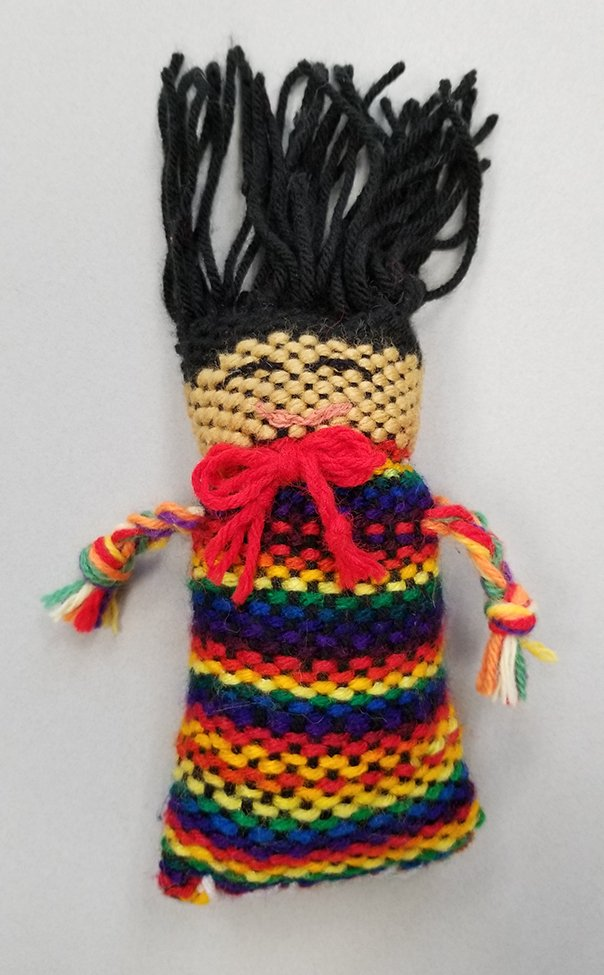 Woven Doll. Alex (age 12) - 2020