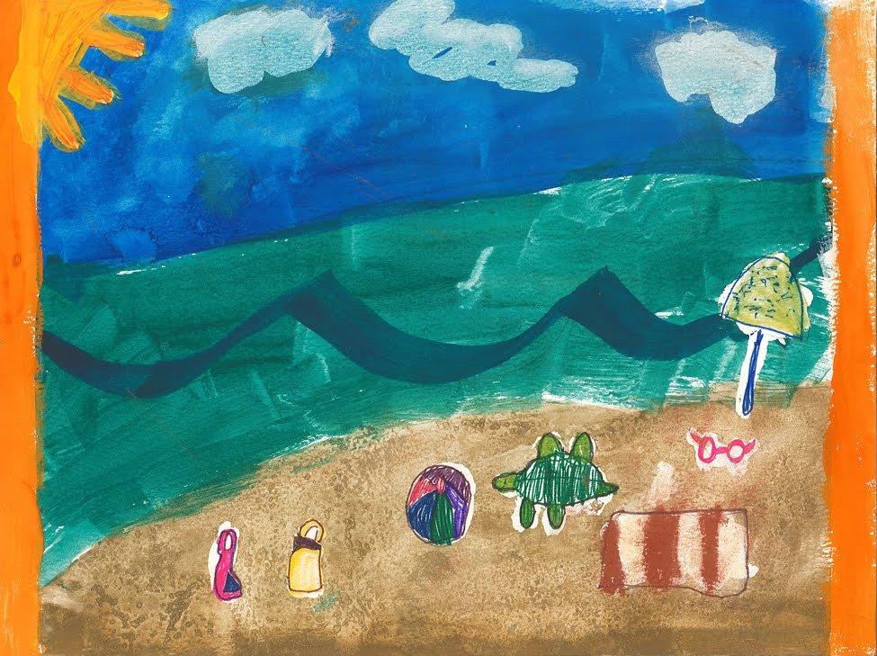 Watercolor. Liana (age 7) - 2020