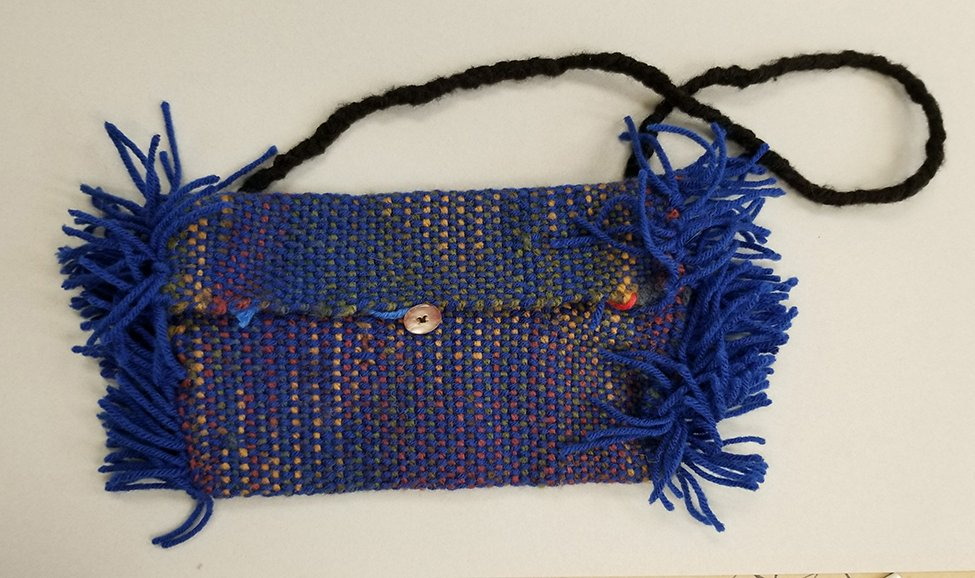 Woven Purse. Guadalupe (age 14) - 2020