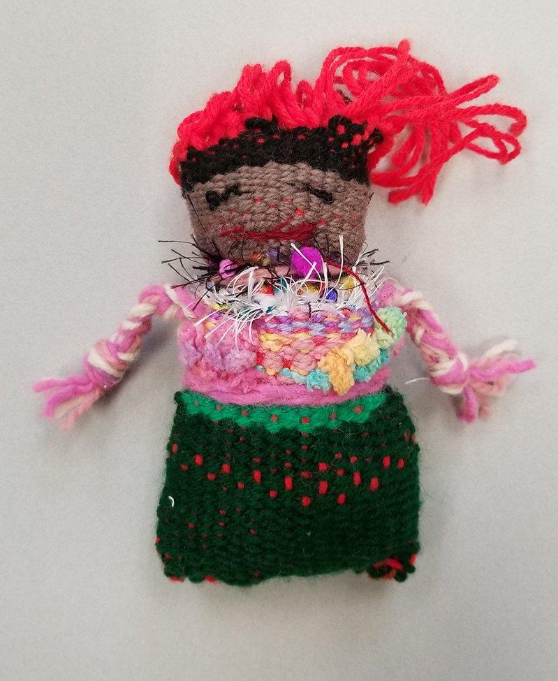 Woven Doll. Taziyah (age 10) - 2020