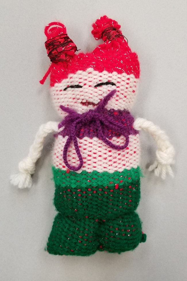 Woven Doll. Sergey (age 11) - 2020