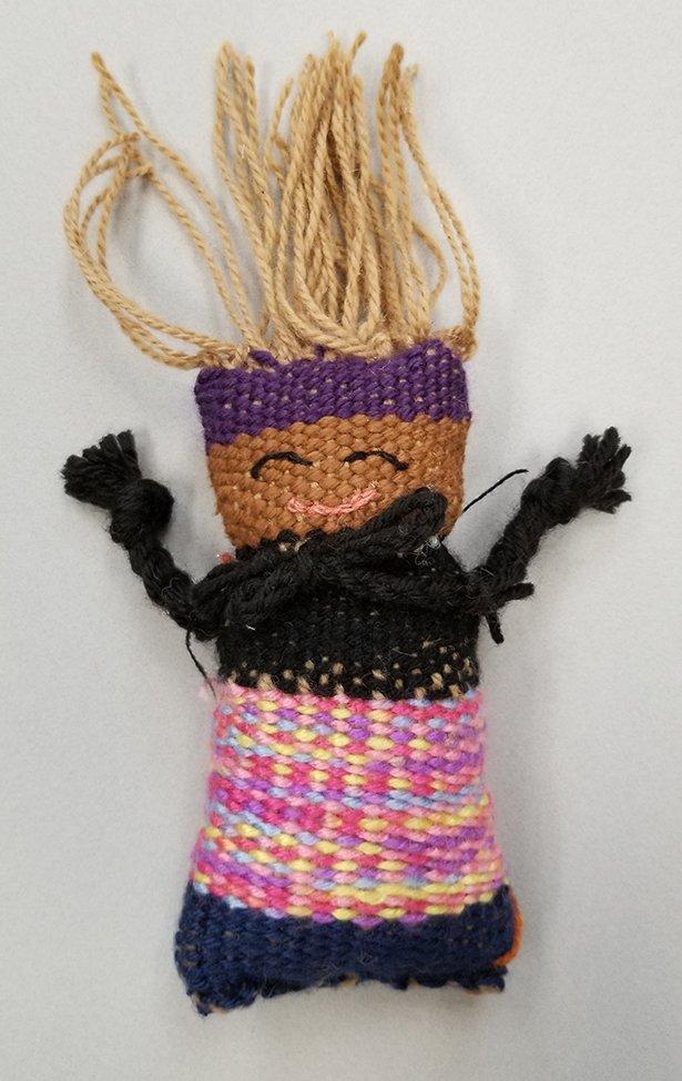 Woven Doll. Iye'Onna (age 10) - 2020