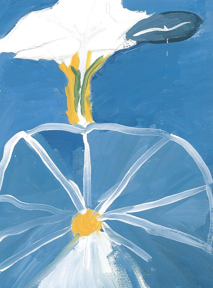 Acrylic Painting. Na'Zhya (age 12) - 2020