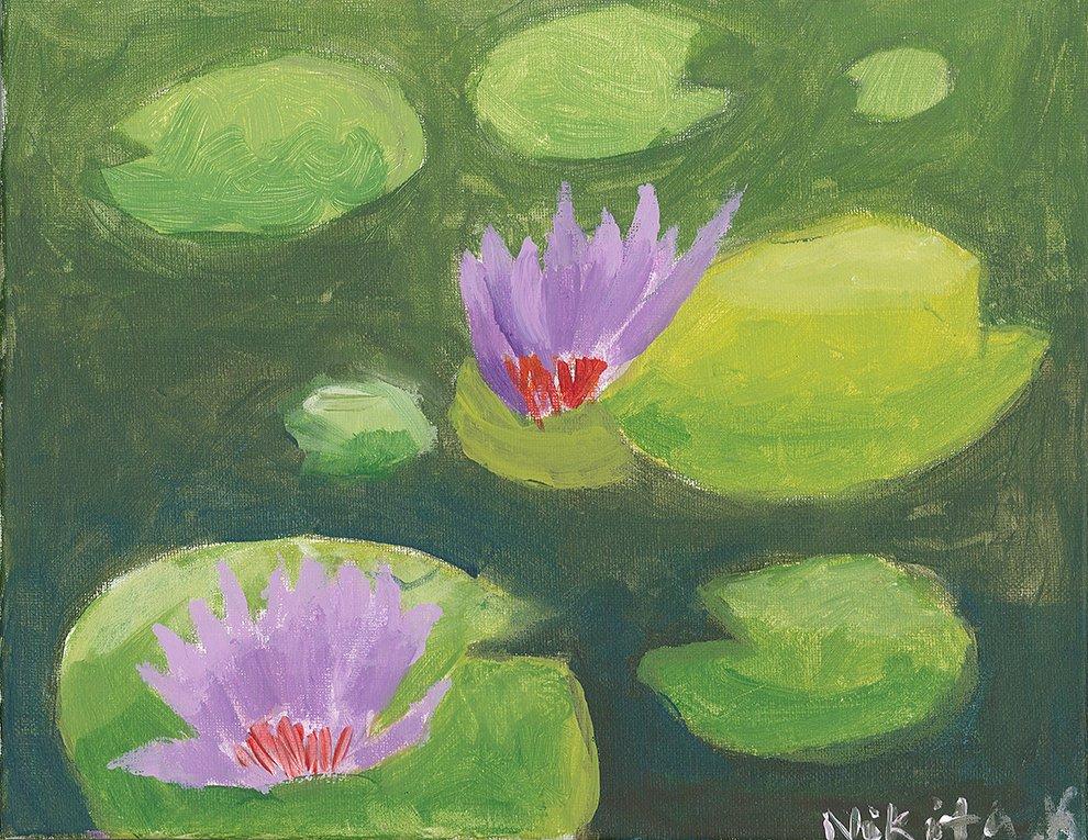Acrylic Painting. Nikita (age 11) - 2020