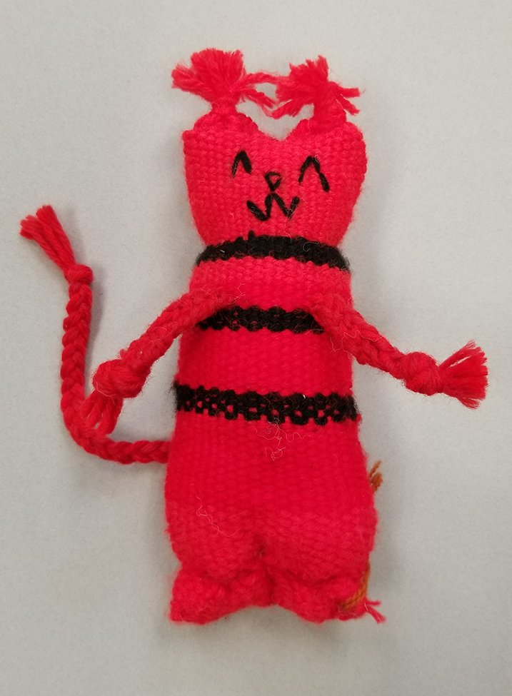 Woven Doll. Renat (age 11) - 2020