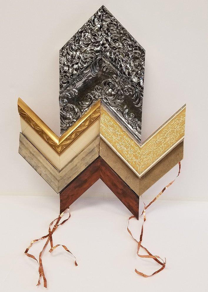 Assemblage Sculpture. Elaudia (age 10) - 2020