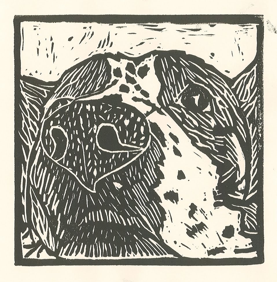 Relief Print. Sophie (age 12) - 2020