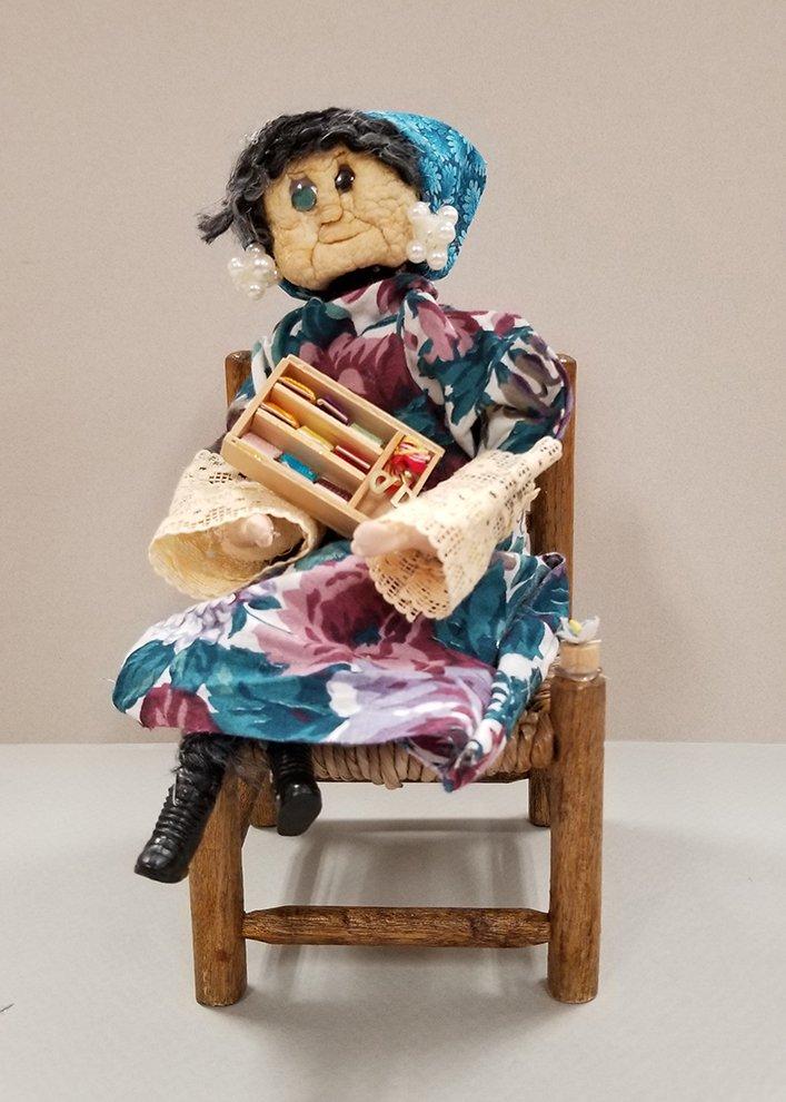 Apple Head Doll. Grace (age 9) - 2020