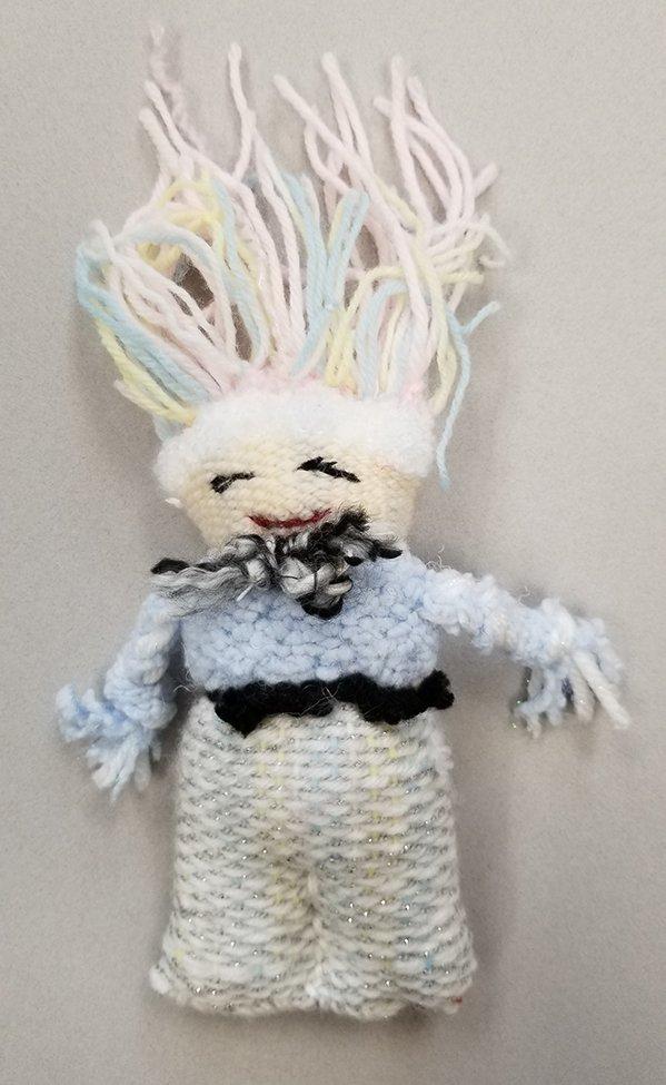 Woven Doll. Olga (age 10) - 2020
