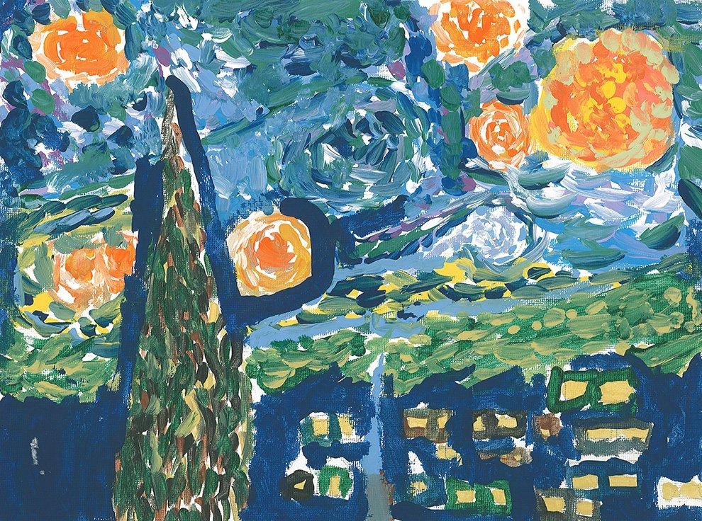 Acrylic Paint. Tania (age 11) - 2020