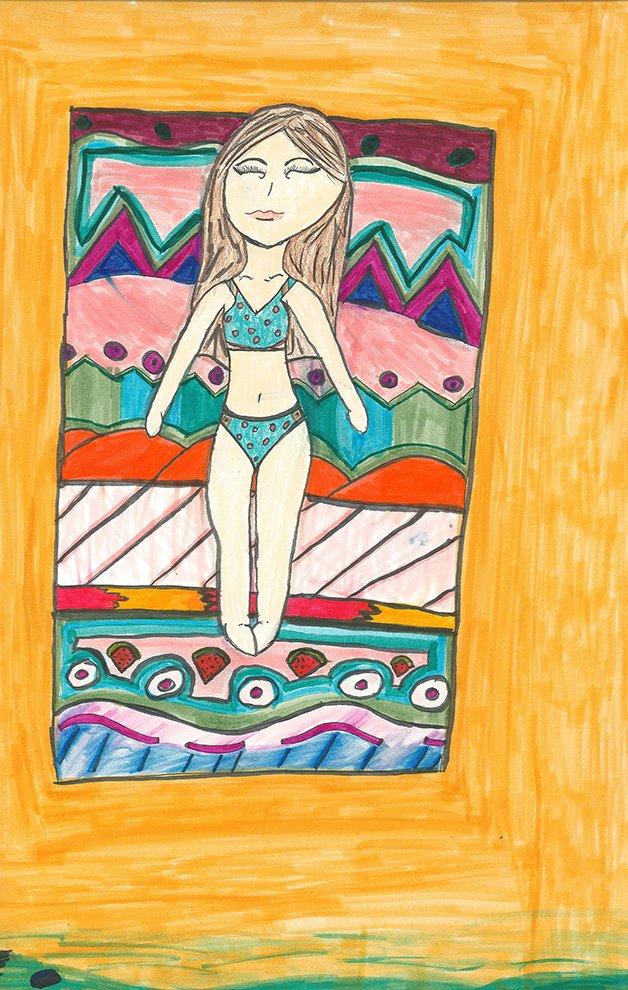 Art Markers. Lilyanna (age 11) - 2020
