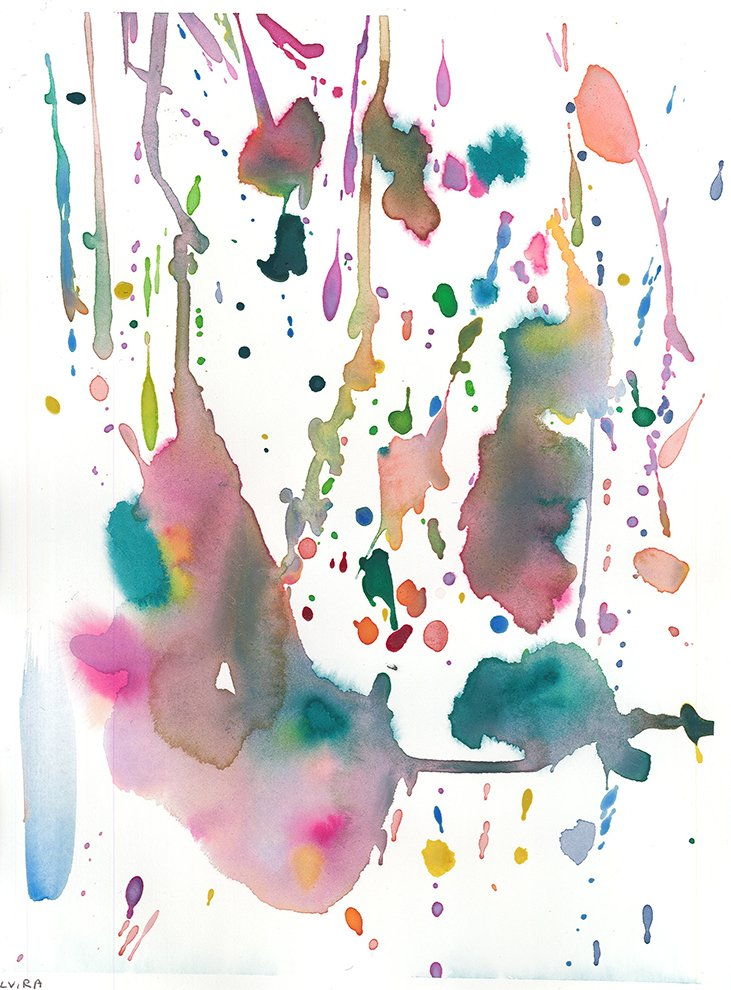 Watercolor. Elvira (age 10) - 2020