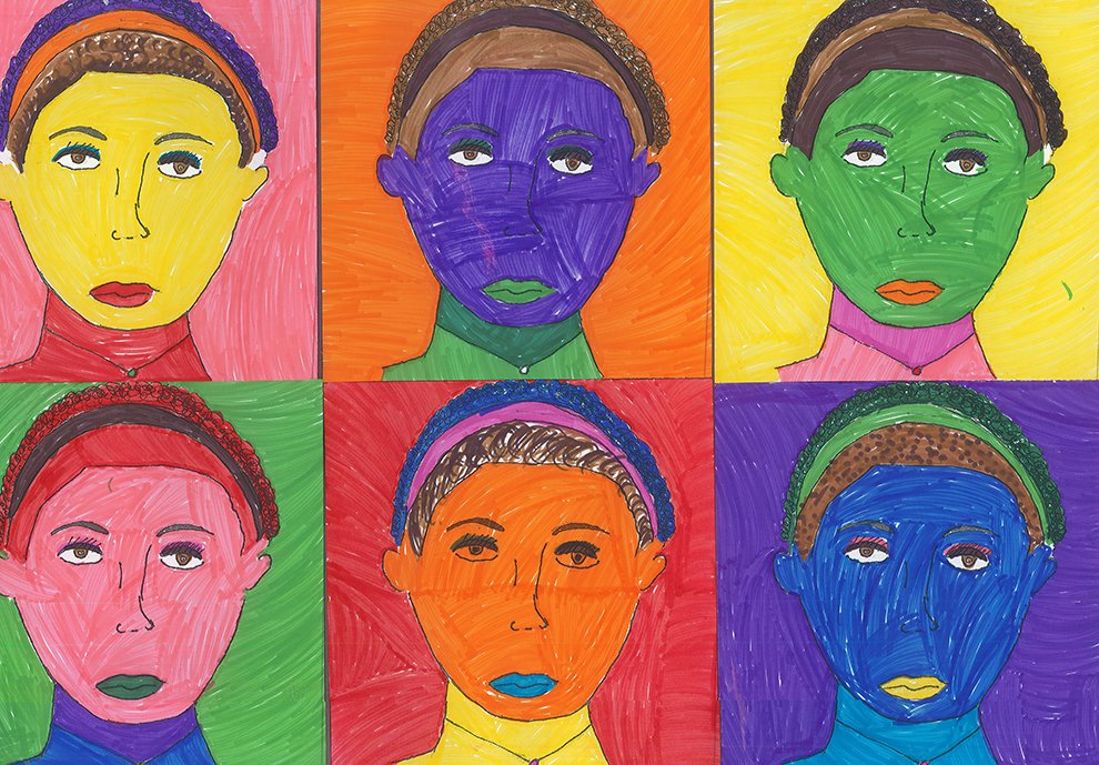 Marker. Estella (age 13) - 2021