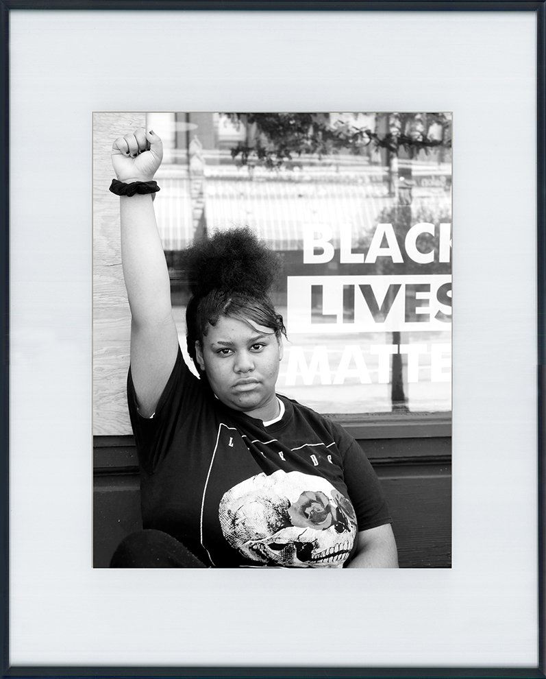 She Matters' by Teajanae Johnson, age 14 and Yeslian Vargas, age 13. Best of Show Youth Photography