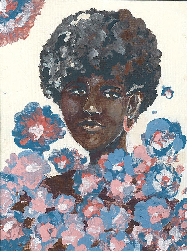Acrylic Painting. Nhu (age 13) - 2021