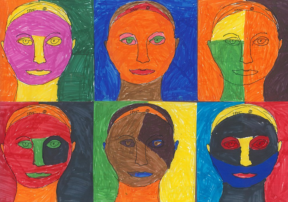 Marker Drawing. Espoir (age 11) - 2021
