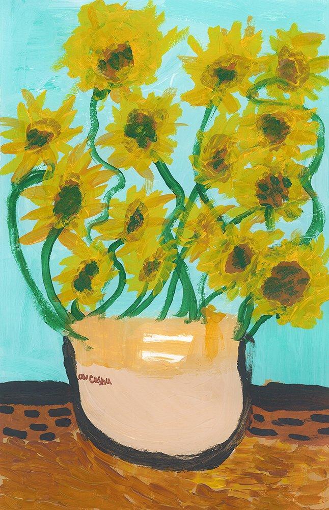 Acrylic Painting. Laveasha (age 9) - 2021