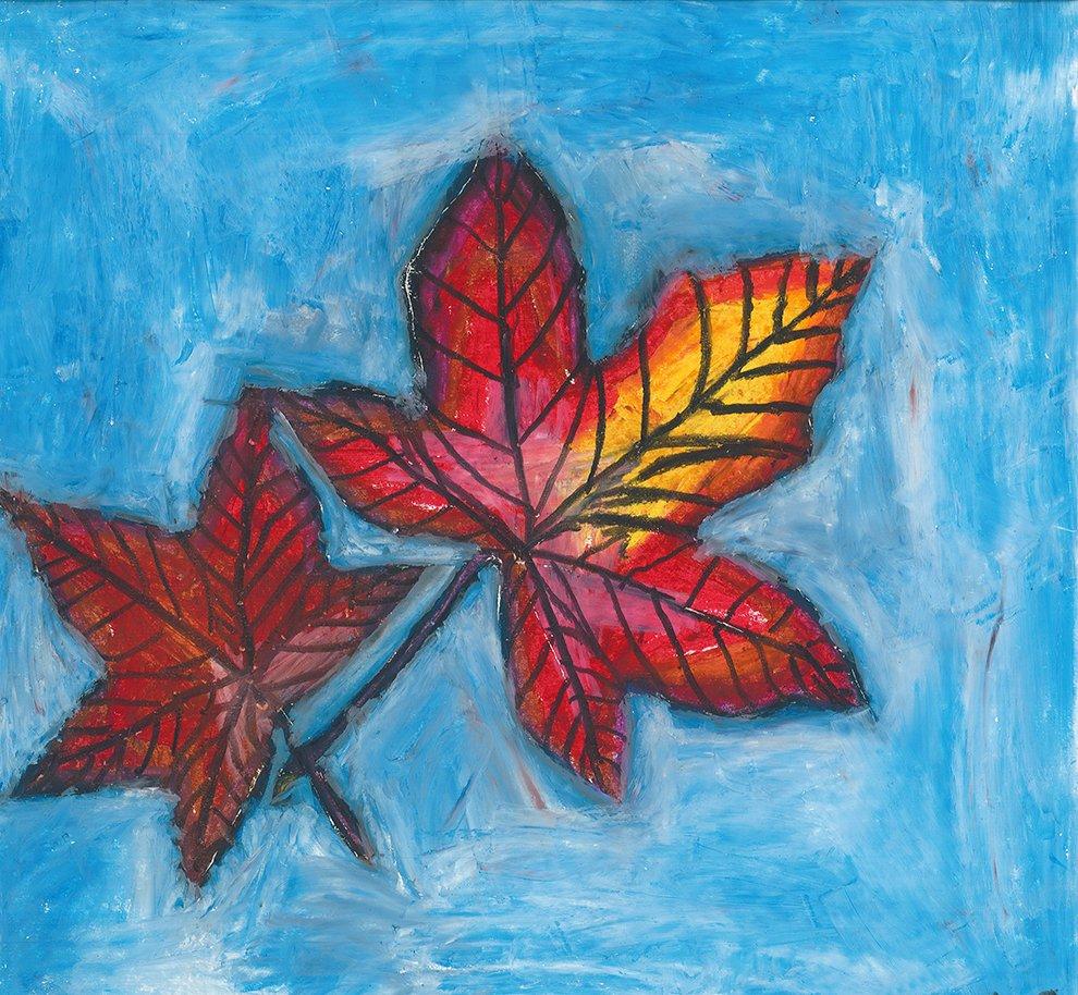 Oil Pastel. Riana (age 10) - 2020