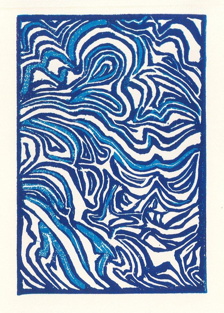 Reductive Relief Print. Bogdan (age 13) - 2021