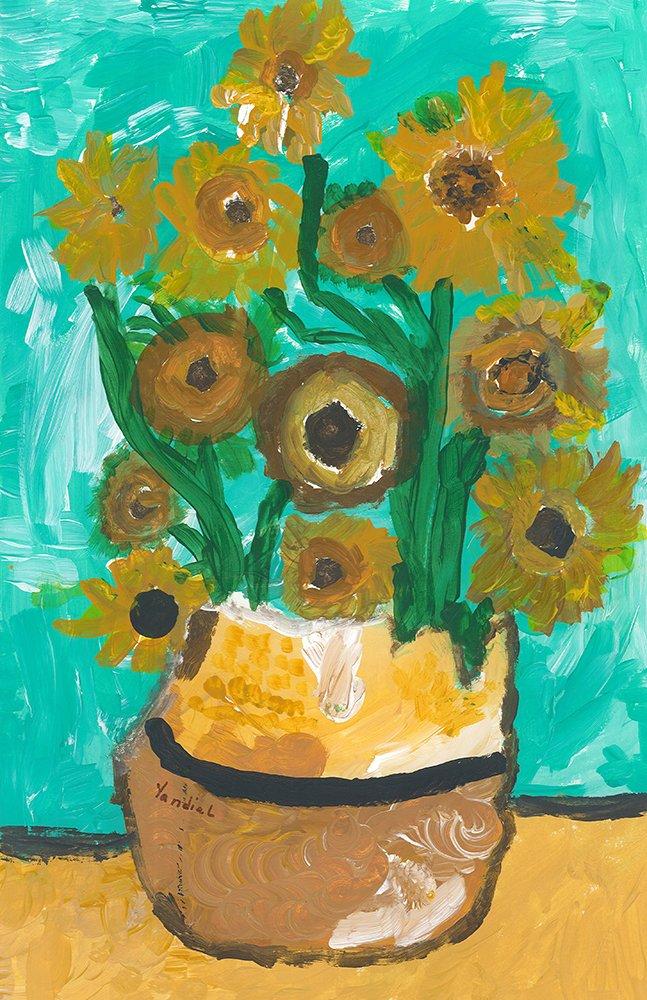 Acrylic Painting. Yandiel (age 10) - 2021